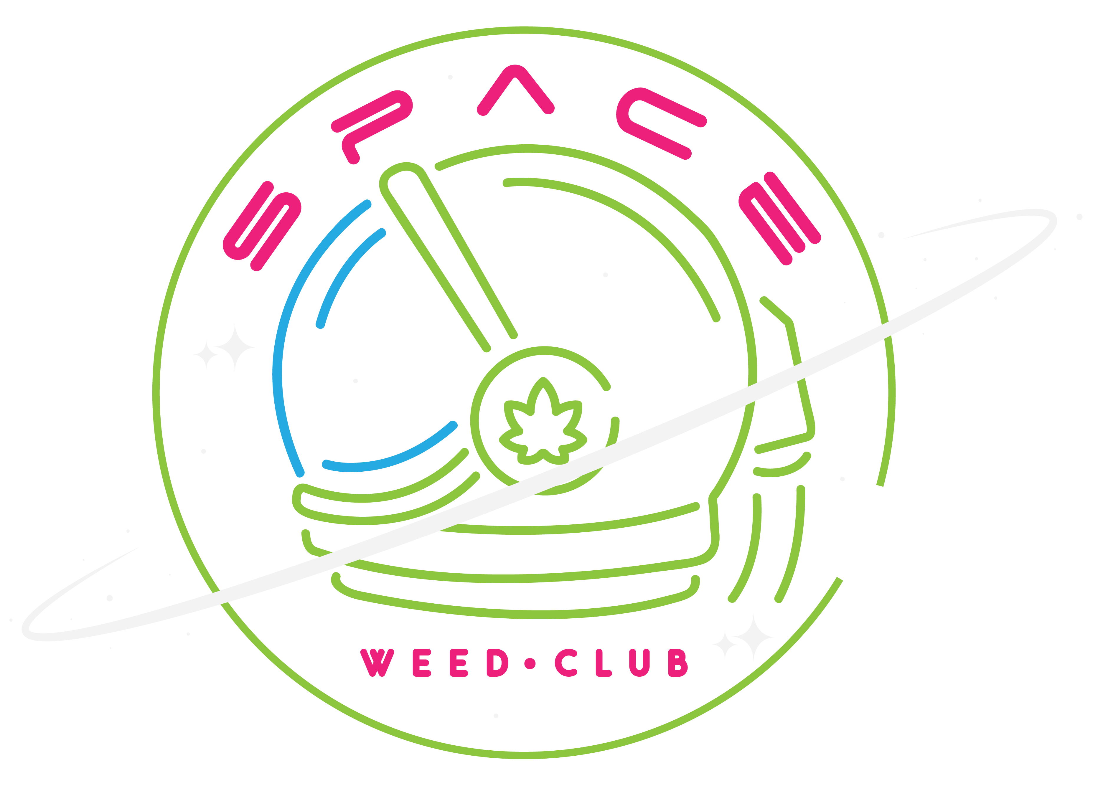 Space Weed Club Logo
